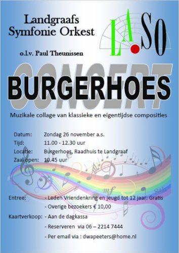 burgerhoesconcert